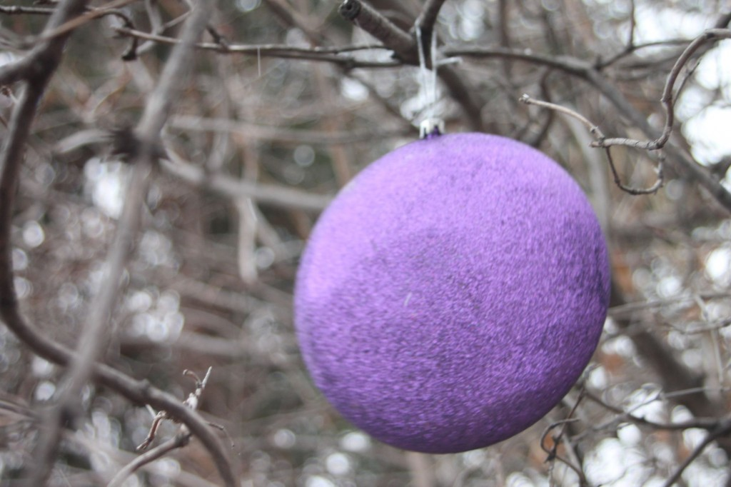 christmaspurpleball
